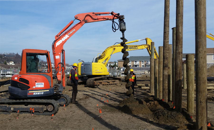 Twin Rivers Marine Construction is equipped for all your Foundation Pile Driving needs in NJ.
